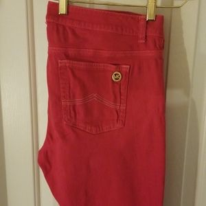 Michael Kors Pink Jeans style pants
